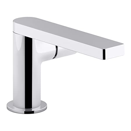 KOHLER K-73050-7-CP Composed Single-Handle Bathroom Sink Faucet with Cylindrical Handle, Polished Chrome