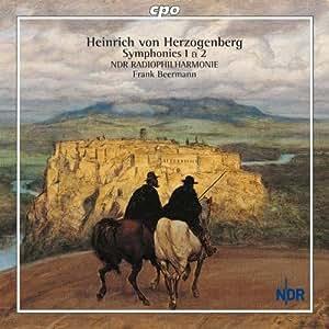 ヘルツォーゲンベルク:交響曲 第1番/同第2番