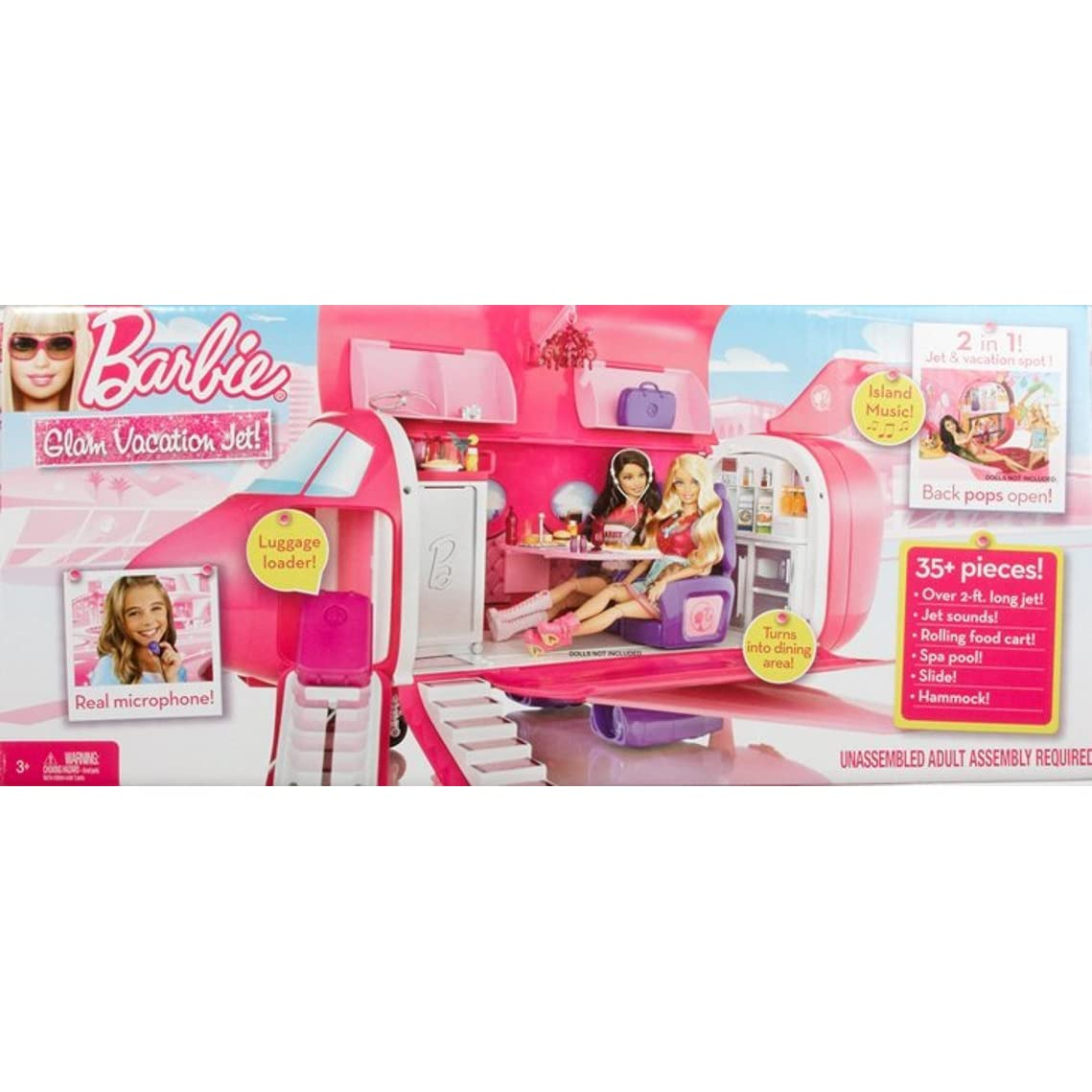 Barbie Glamour Jet Airplane Related Keywords Barbie