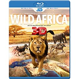 WILD AFRICA 3D - An Extraordinary Journey (Blu-ray 3D & 2D Version) REGION FREE
