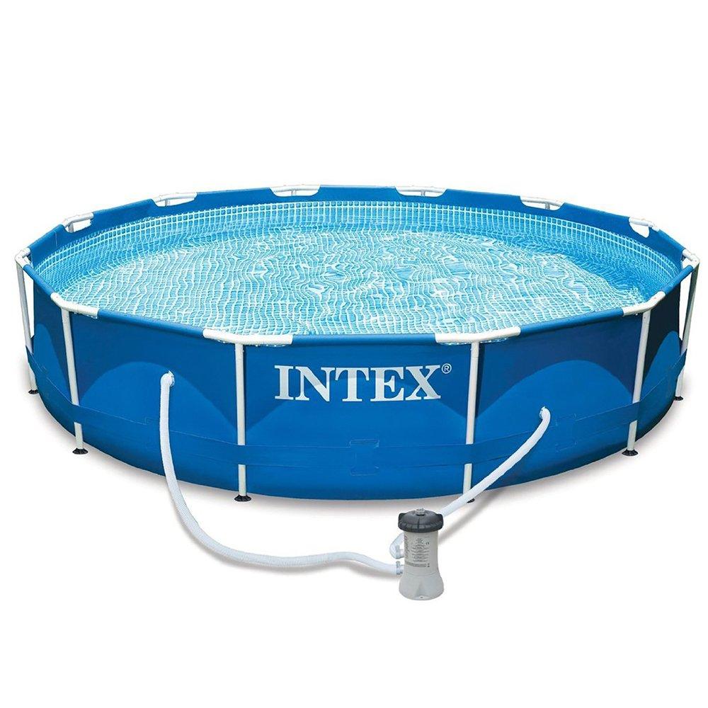 Metal Frame Pool Intex 28212GN 366 x 76 cm mit Pumpe NR. 11 A günstig kaufen