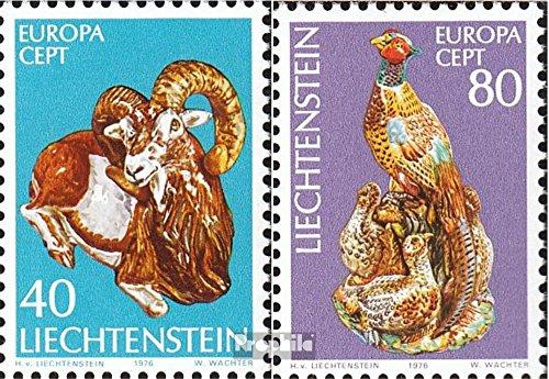 Liechtenstein 642-643 (kompl.Ausg.) postfrisch 1976 Europa (Briefmarken für Sammler)