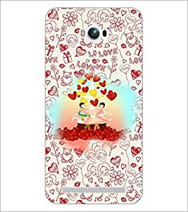 PrintDhaba Cartoon D-3603 Back Case Cover for ASUS ZENFONE MAX ZC550KL (Multi-Coloured)