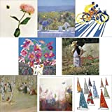 Greeting Cards collection. Beautiful 2 - 8 premium art cards a mix of birthday cards and blank cardby Woodmansterne cards,...