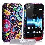Sony Xperia Tipo Silicone Jellyfish Case