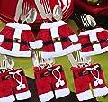 Puraid(TM) Christmas Santa Christmas Decorations Silverware Holders Pockets Dinner Table