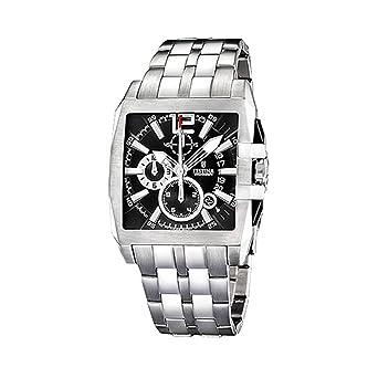 Info boutique Festina - F16393 3 - Montre Homme - Quartz - Chronographe -  Chronomètre - Bracelet Acier Inoxydable Argent. d9fb3930558c