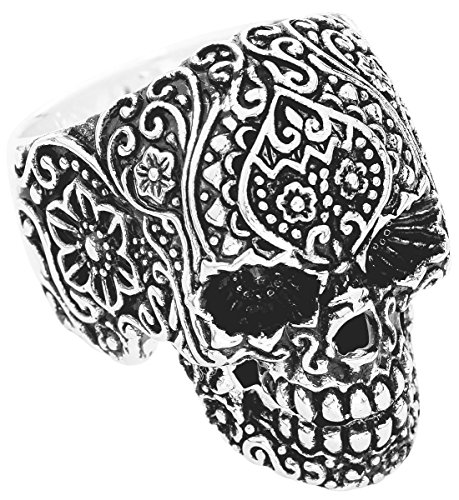 Wildcat Skull Tattoo Anello standard S