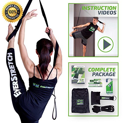 Leg Stretcher: Get More Flexible With This Door Flexibility Trainer by EverStretch: Premium stretching equipment for ballet, dance, MMA, taekwondo & gymnastics. Your own portable stretch machine! (Split Stretcher compare prices)