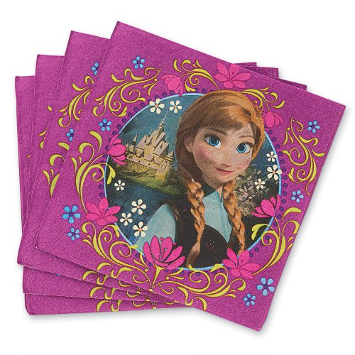 Disney Frozen Luncheon Napkins - Birthday Party Supplies - 16 per pack - 1