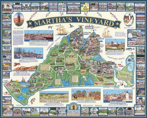 Cheap Fun White Mountain Puzzles Martha's Vineyard (B0033BZ74M)