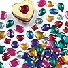 Large Self-Adhesive Acrylic Gems (Pack of 120)