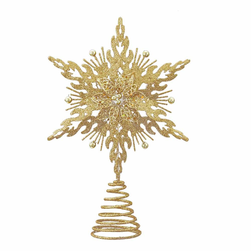 Christmas stars gold tree toppers christmas wikii for Gold xmas tree