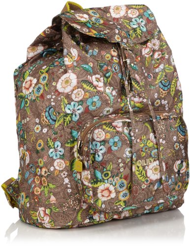oilily-french-flowers-folding-backpack-tobacco-bolso-mochila-de-material-sintetico-mujer-color-marro