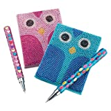 Owl Notebook & Pen (2)