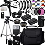 Ultimate 58mm Lens 28PC Accessory Kit...
