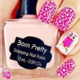 15ml Born Pretty Nail Art Stamping Polish Pink Nail Polish 16# # 22336