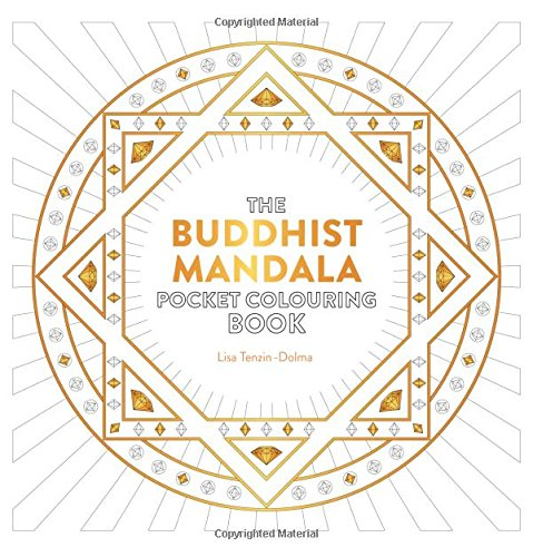 Buddhist Mandala Pocket Colouring Book (Colouring Books)