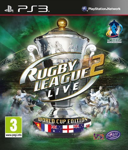 Rugby League Live 2 World Cup Edition PS3 UK Import Region Free