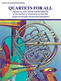 img - for Quartets for All: Bass Clef book / textbook / text book