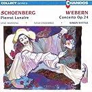 Concerto Op. 24, Le Pierrot Lunaire.