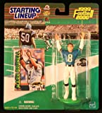 MARK BRUNELL / JACKSONVILLE JAGUARS 1999-2000 NFL Starting Lineup Action Figure & Exclusive NFL Collector Trading Card