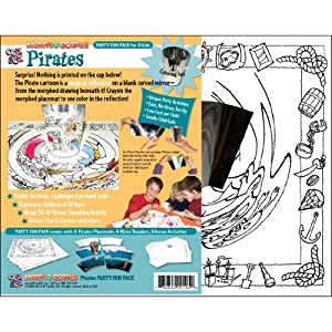 Click to buy Pirate Birthday Party Ideas: Morph-O-Scopes Pirate Craft Activity from Amazon!