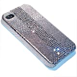 BlingBoutiques Solo silver Crystal bling case for iPhone 4 /4S Made with Swarovski Elements