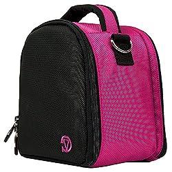 Vangoddy Nylon Hot Pink Camera Pouch