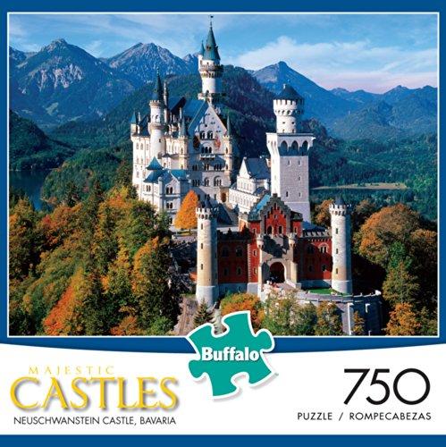 Majestic Castles: Neuschwanstein Castle Jigsaw Puzzle (750-Piece)