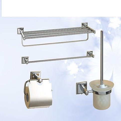 Kit hardware/ set da bagno/portasciugamano/ porta scopino /Tessuti/Asciugamano-A