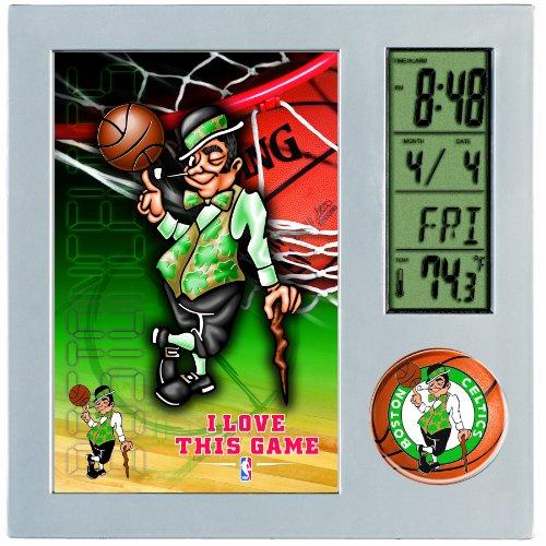 NBA Boston Celtics Digital Desk Clock