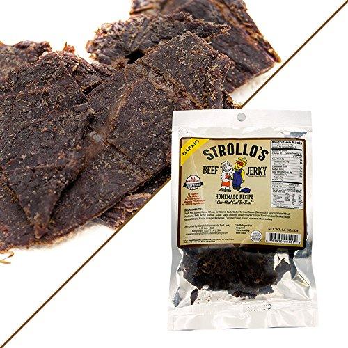 Best Beef Jerky by Strollo's Garlic Flavor Paleo & Atkins ...