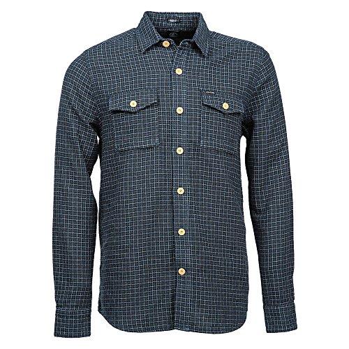 Volcom Willow LS - Camicia da uomo, colore blu scuro BLU blu S