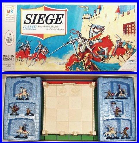 Milton Bradley Game of Siege, 1966
