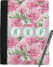 Watercolor Peonies Notebook Padfolio