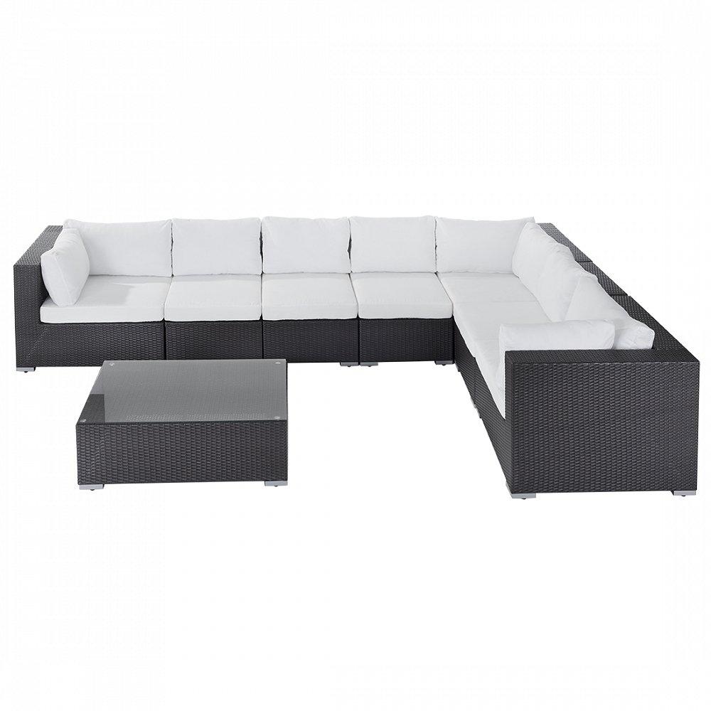 Rattan Lounge – Rattanmöbel 26 Teile – Gartenmöbel polyrattan – GRANDE online bestellen