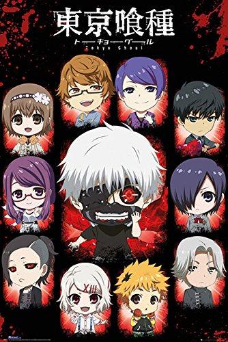 Tokyo Ghoul-Poster-Poster Chibi personaggi + Poster a sorpresa