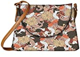 Snoogg Colorful Butterflies Designer Womens Carry Around Sling Bags