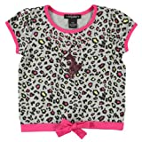 Baby Phat Girls Printed Top with Front Tie