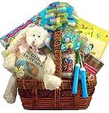 Gift Basket Village Deluxe Easter Activity Basket for Kids, 8 Pound