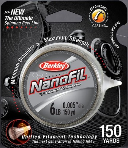 Berkley NanoFil Uni-Filament Fishing Line - 150 Yard