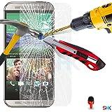 Écran HTC One M8 verre trempé Crystal Clear LCD Protecteur & Chiffon SVL0 PAR SHUKAN®, (VERRE TREMPÉ)