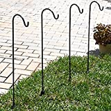 Sheppard Hooks Solar Light Garden Stakes, Set of 4