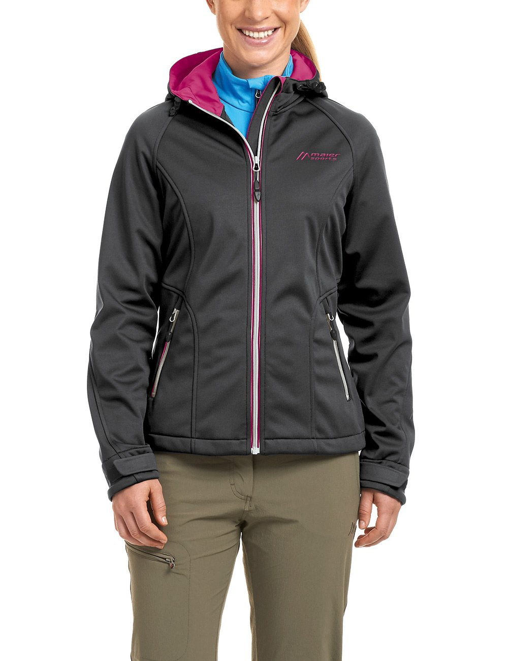 maier sports Damen Softshell Jacke Capella