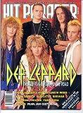Hit Parader DEF LEPPARD Axl Rose SLAUGHTER Nirvana PEARL JAM Bret Michaels GUNS N' ROSES Black Sabbath TRIXTER October 1992 C (Hit Parader Magazine)
