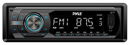 Pyle PLR44MU Autoradio CD/DVD Noir