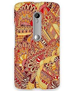 Hugo Motorola Moto X Play Back Cover Hard Case Printed