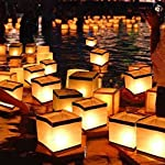 Water Floating Candle Lantern Biodegradable - Set of 10