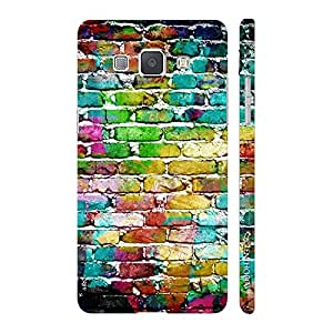 Enthopia Designer Hardshell Case Water Colour Wall Back Cover for Samsung Galaxy A8